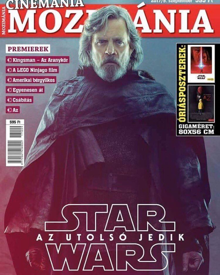 Luke Skywalker's New Look