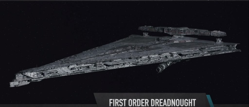 TLJ FO Dreadnought Star Destroyer