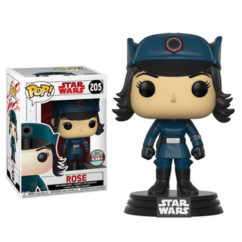 New Last Jedi Rose in Disguise Specialty Series Funko Pop! Bobble Head Toy available on Walmart.com