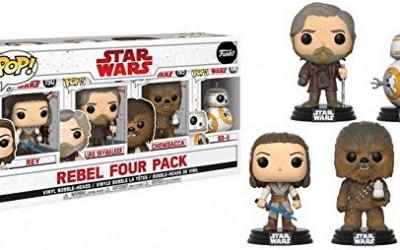 New Exclusive Last Jedi Funko Pop! Bobble Head Toy 4-Pack Rundown!