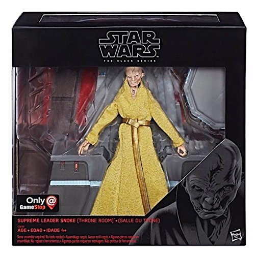 New Last Jedi Exclusive Black Series Supreme Leader Snoke (Throne Room) Figure now available on Amazon.com