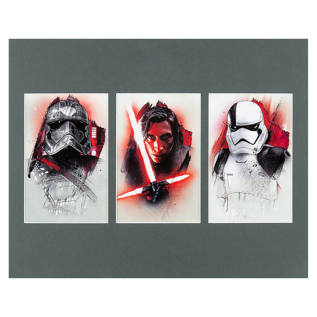 TLJ The First Order Deluxe Art Print