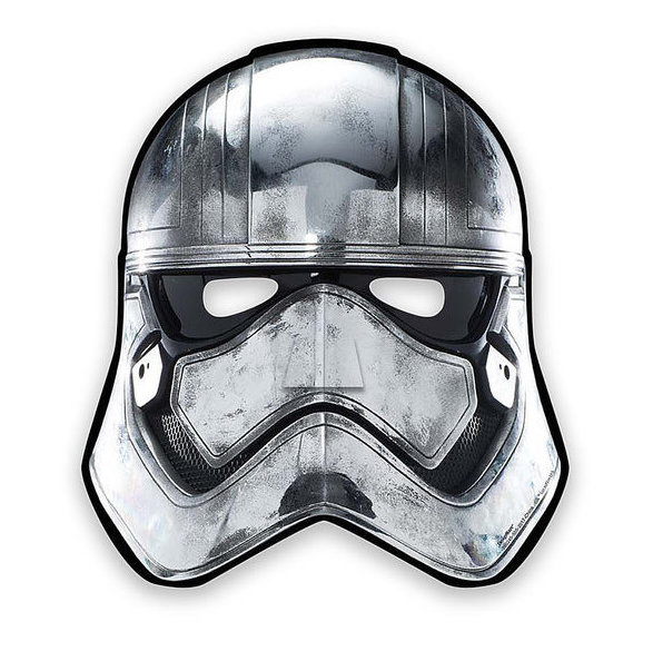 TLJ Party Character Paper Masks Set 4