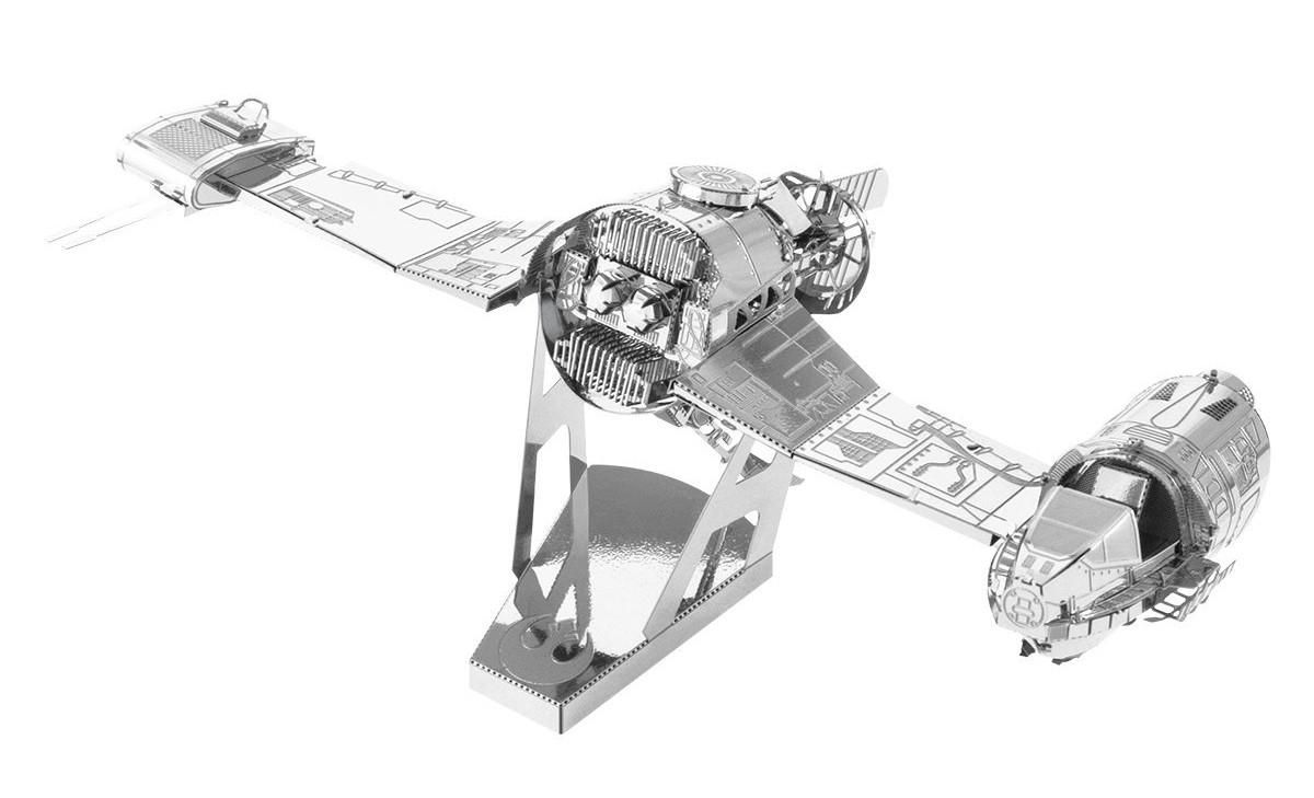 TLJ Resistance Skyspeeder 3D Metal Model Kit