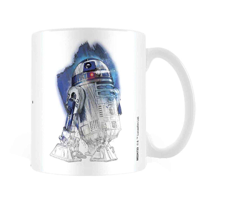 TLJ R2-D2 Brushstroke Mug
