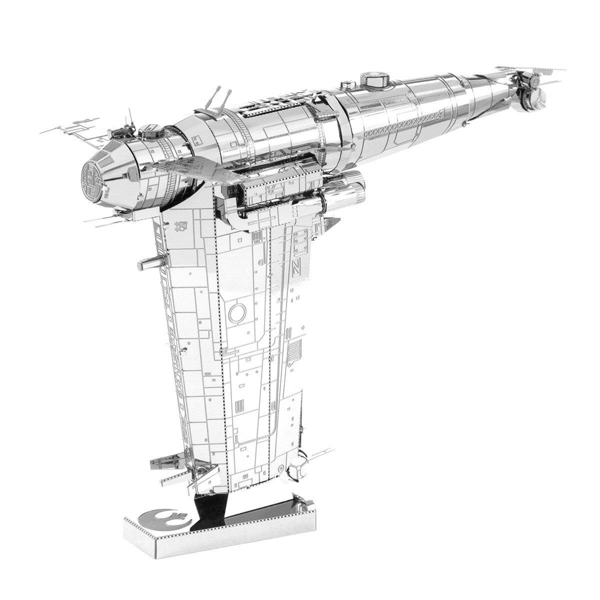 TLJ Resistance Bomber 3D Metal Model Kit