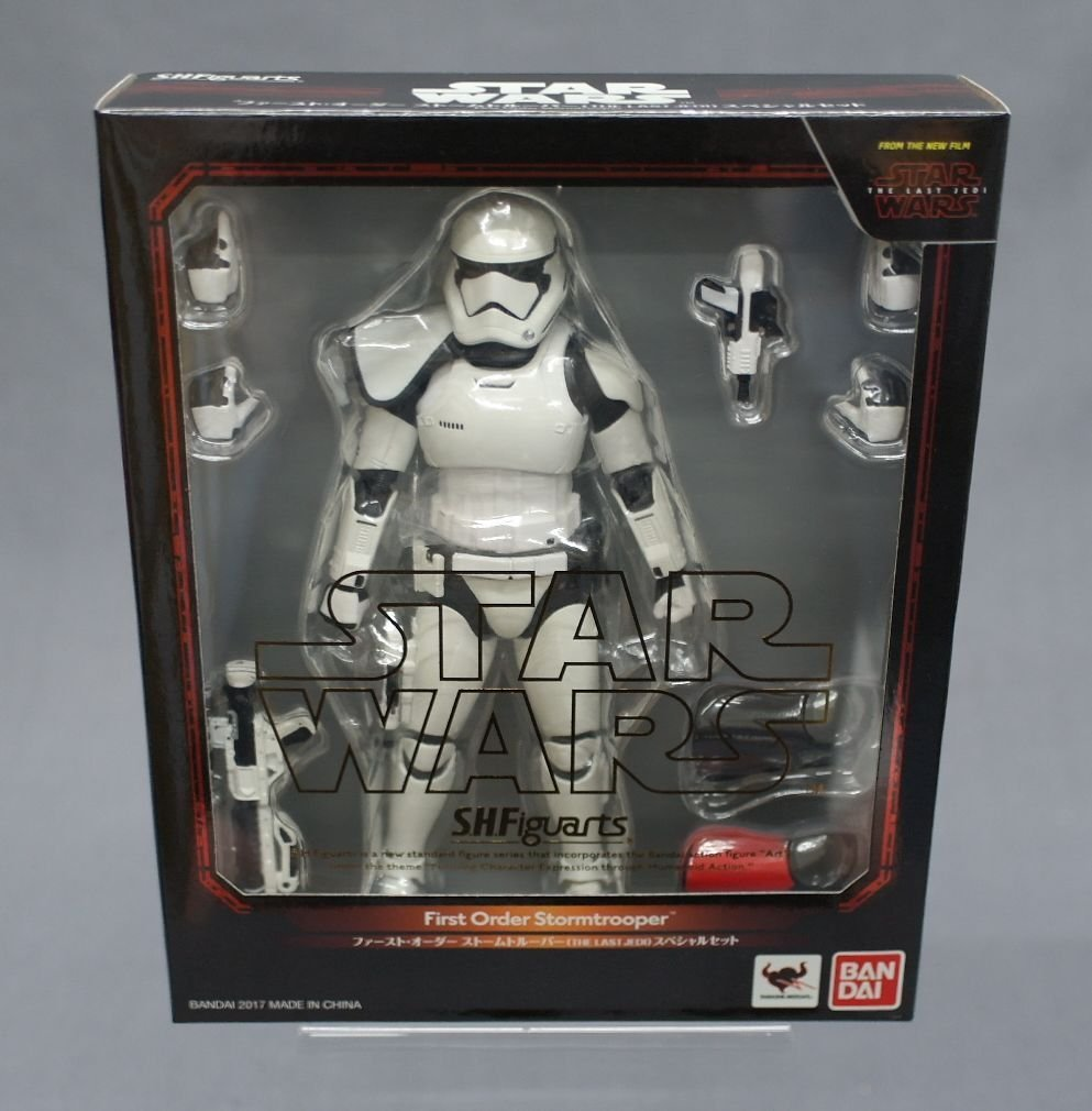 TLJ FO Stormtrooper Figure Set 1