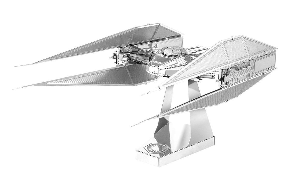 TLJ Kylo Ren's Tie Fighter 3D Metal Model Kit