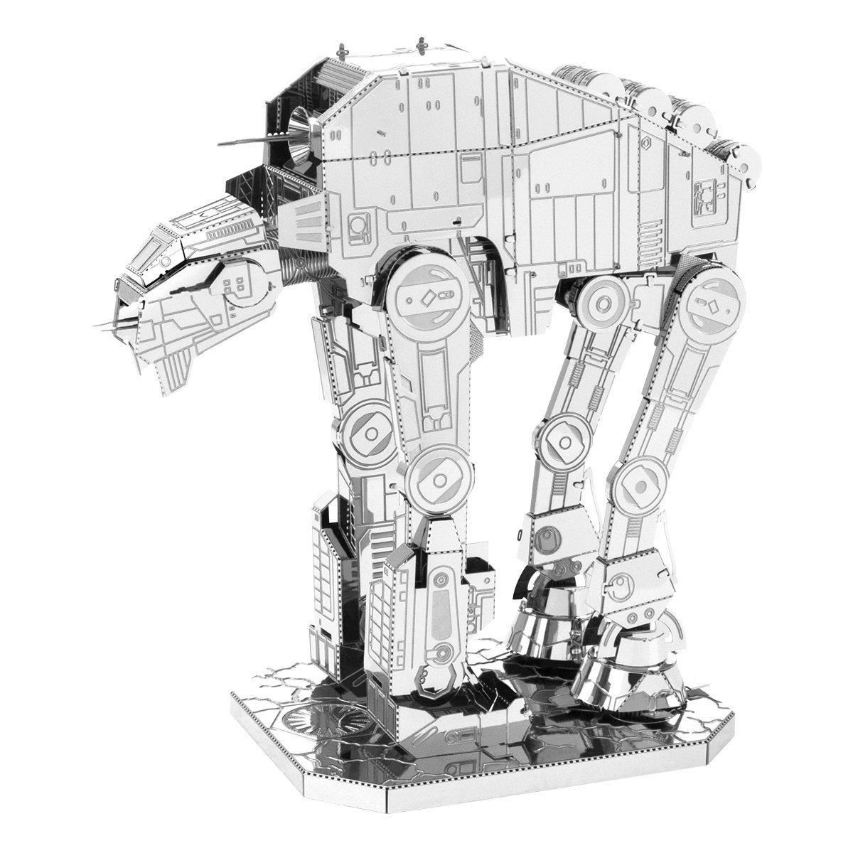 TLJ First Order AT-M6 Heavy Assault Walker 3D Metal Model Kit