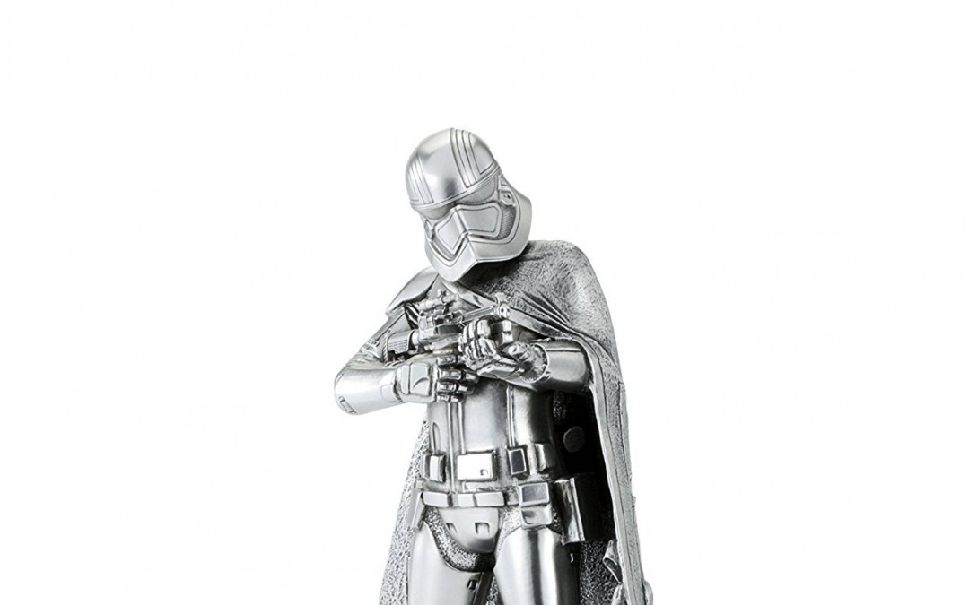New Last Jedi Captain Phasma Pewter Statue available on Amazon.com