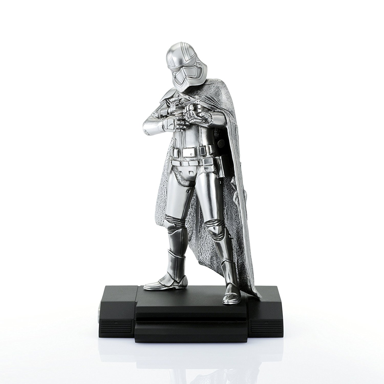 TLJ Captain Phasma Pewter Statue 2