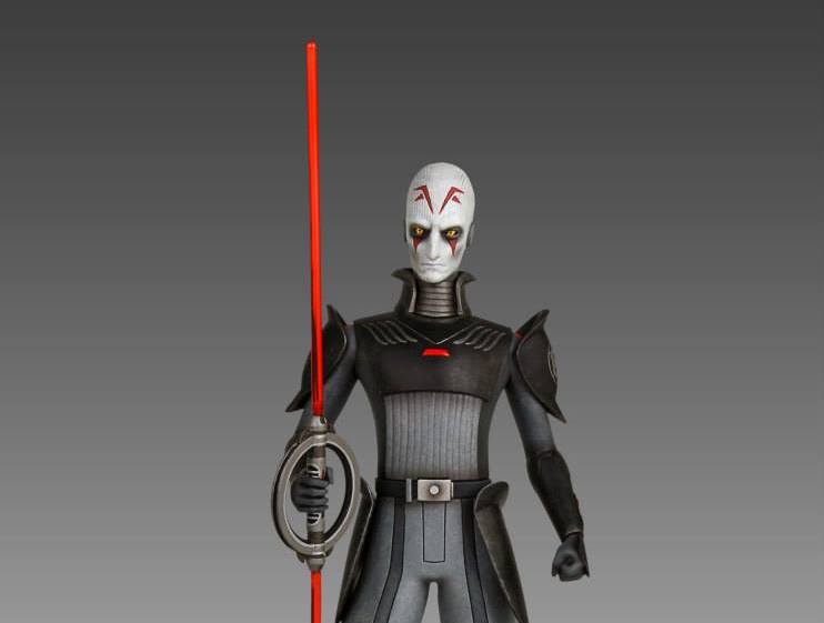 New Star Wars Rebels: Grand Inquisitor Maquette Statue from Gentle Giant available on Amazon.com