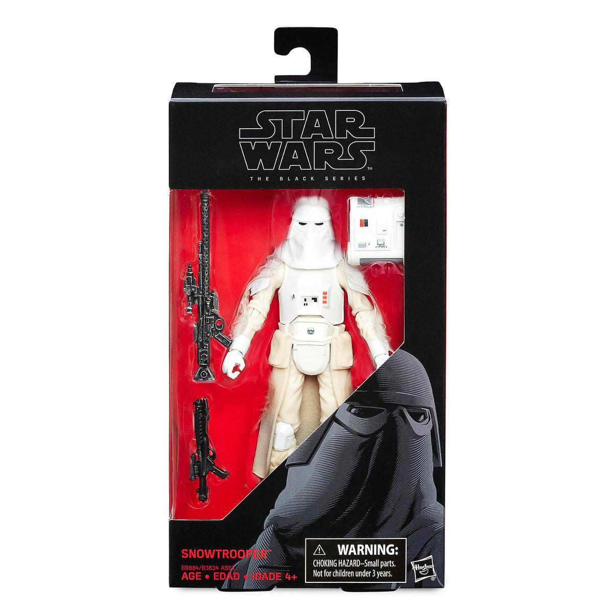 "TESB 6"" Imperial Snowtrooper Black Series Figure 1"