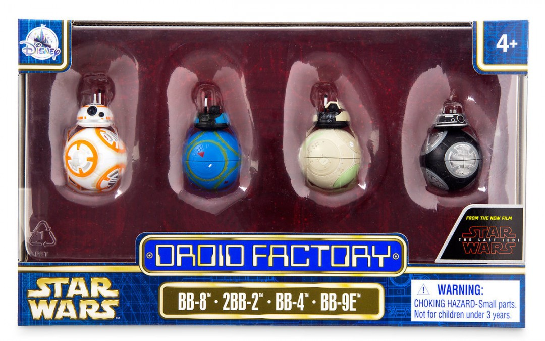 New Last Jedi Droid Factory Figure Set available on Walmart.com