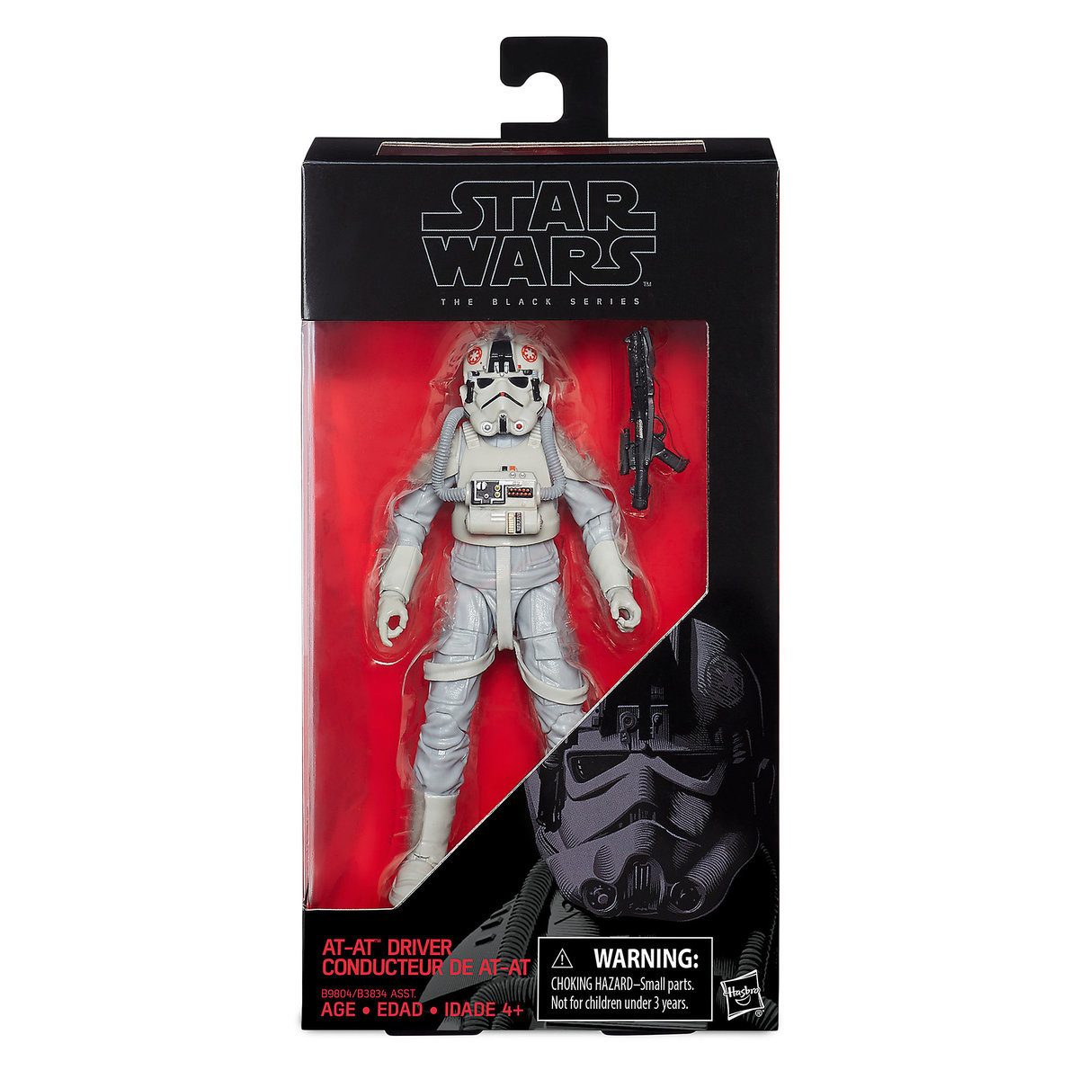 """TESB 6"""" Imperial AT-AT Driver Black Series Figure 1"""