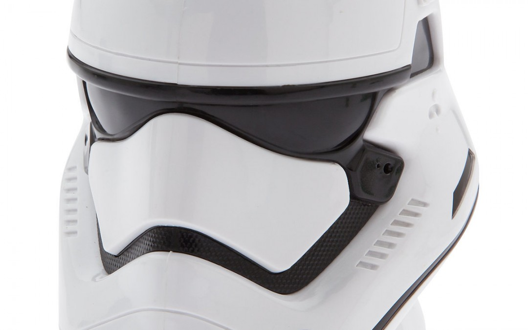 New Last Jedi First Order Stormtrooper Helmet Cup available on ShopDisney.com