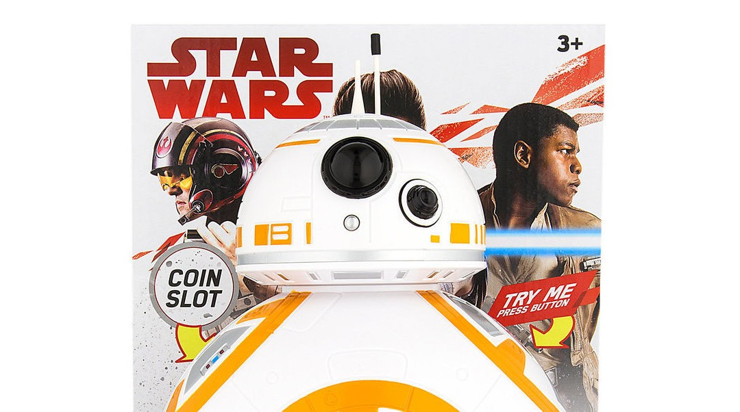 New Last Jedi BB-8 Coin Bank available on ShopDisney.com