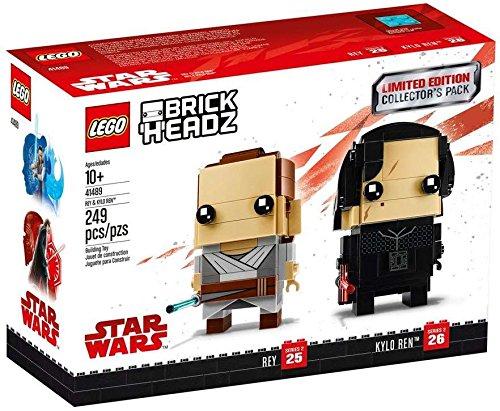 New Last Jedi LEGO BrickHeadz Collector's Pack available on Amazon.com