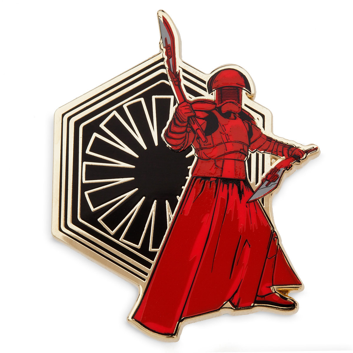 TLJ Praetorian Guard Pin & Lithograph Set 2