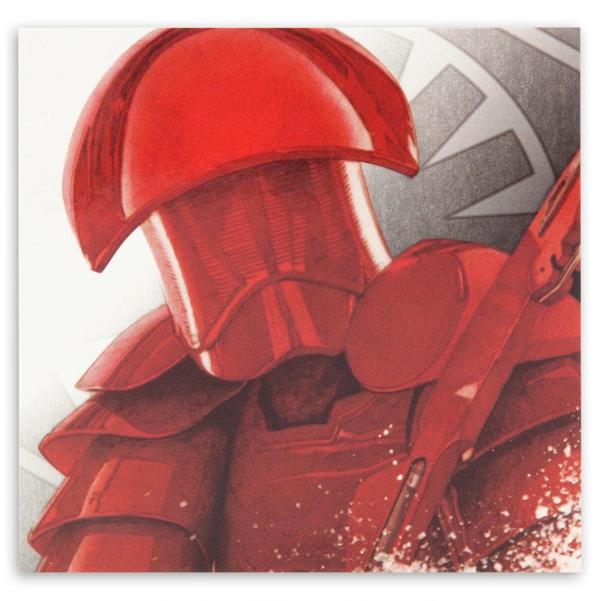 TLJ Praetorian Guard Pin & Lithograph Set 3