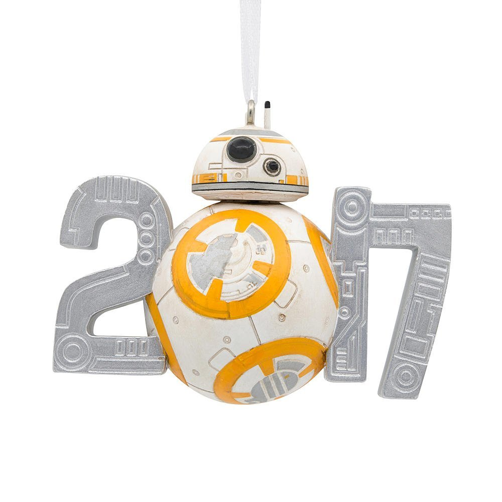 TLJ BB-8 Dated 2017 Holiday Christmas Ornament 1