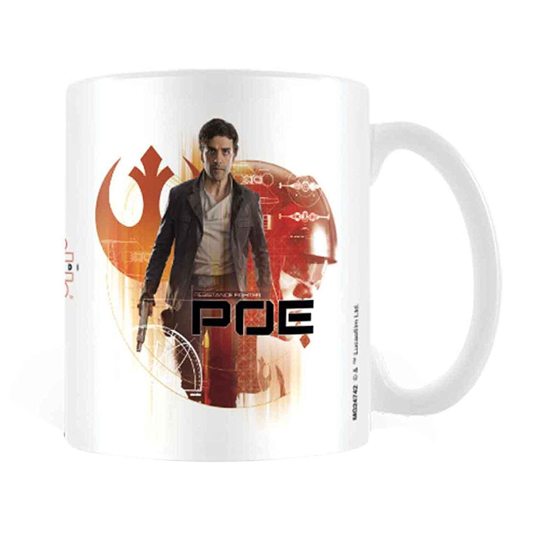 TLJ Poe Dameron Icon Brushstroke Mug