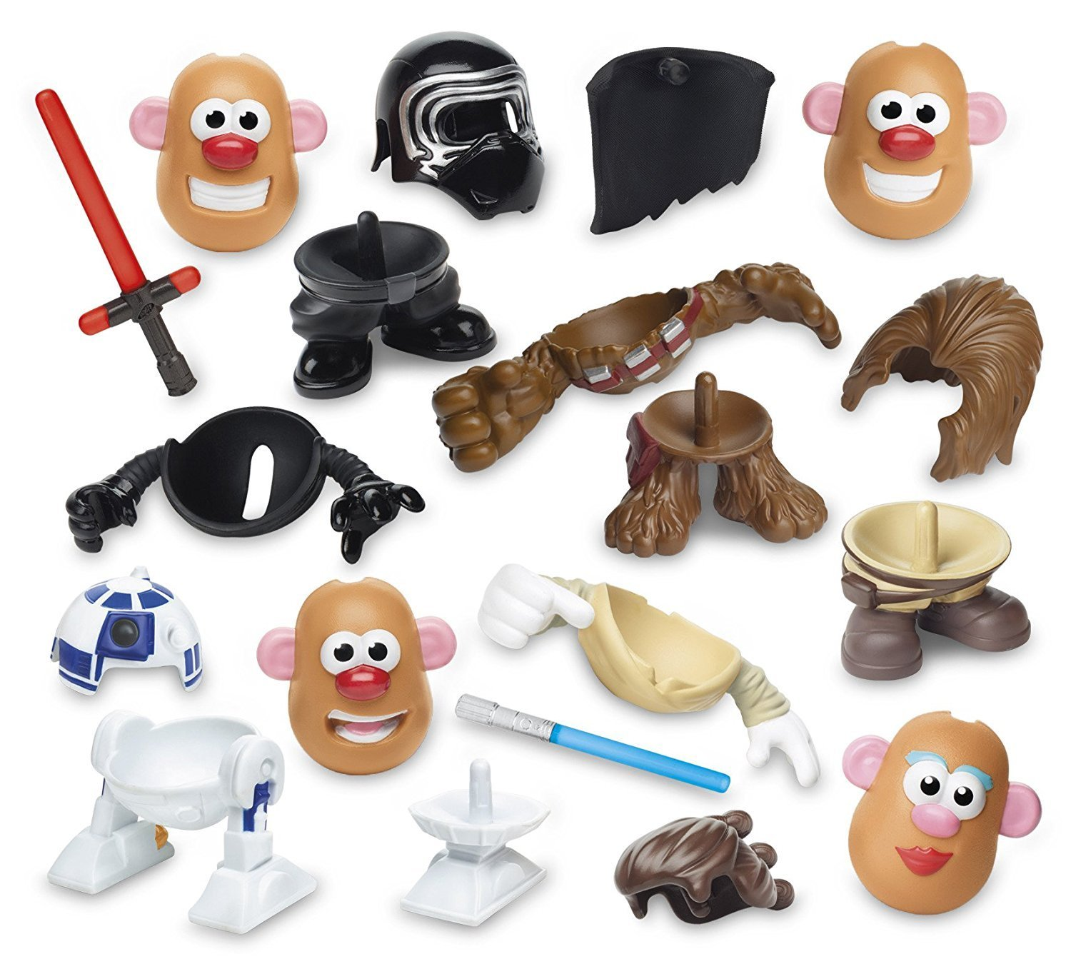 TLJ Mr. Potato Head Mini Multi-Pack 2