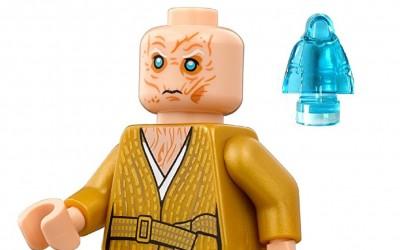 New Last Jedi Lego Polybag Mini-Figure Supreme Leader Snoke with Palpatine Hologram set available on Amazon.com