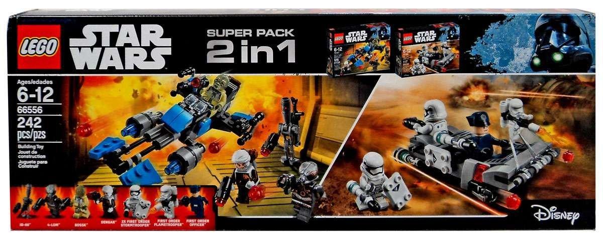 RO 2 in 1 Lego Set #66556