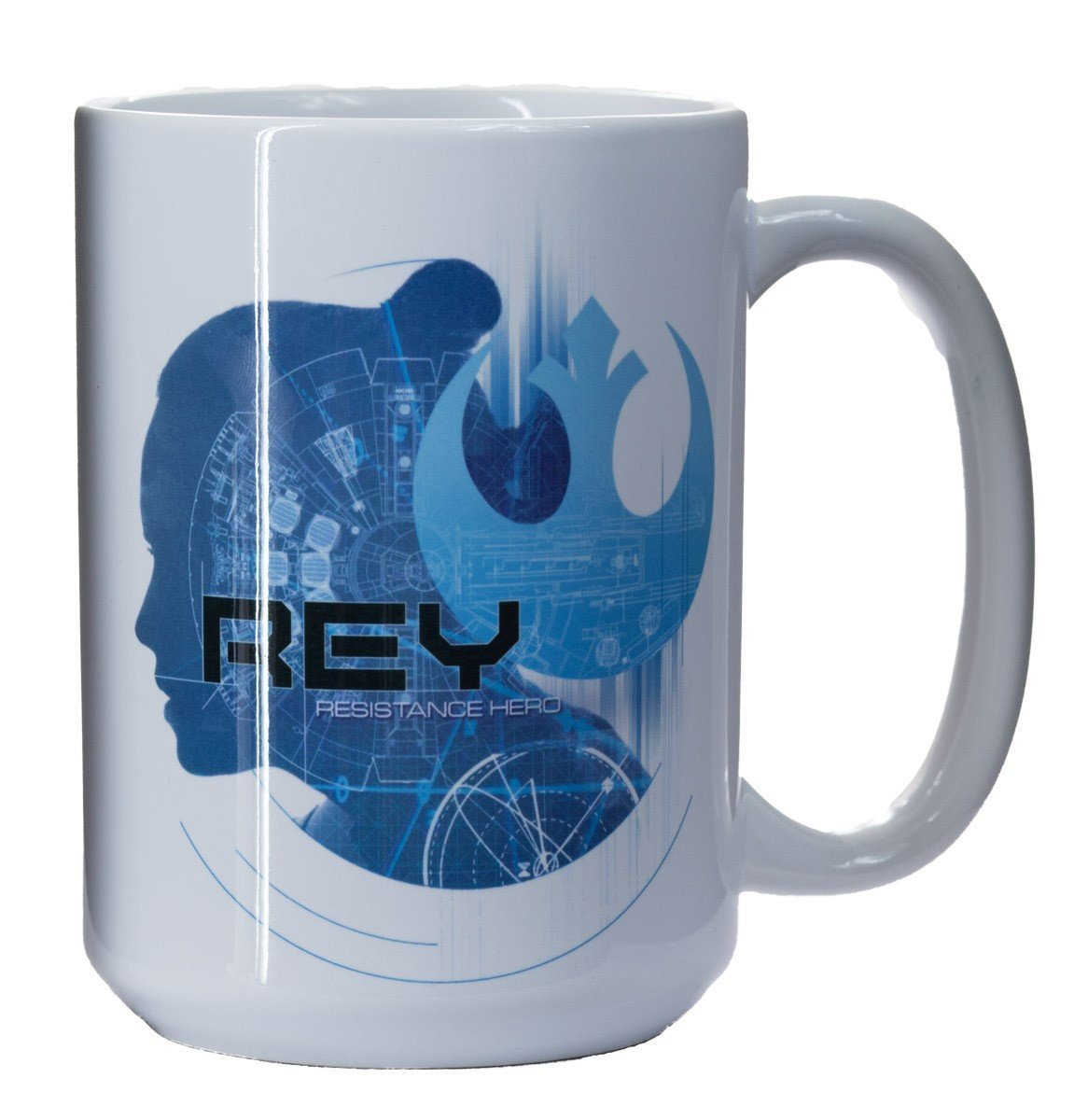 TLJ Rey Resistance Hero Collectable Mug