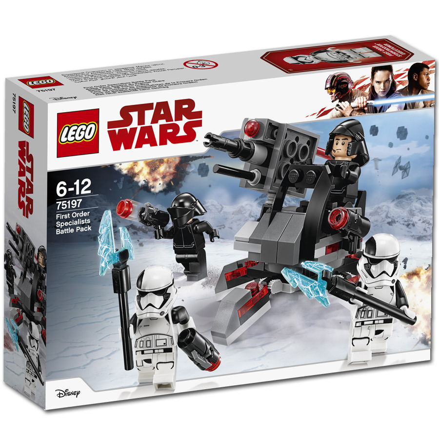 TLJ First Order Specialists Battle Pack