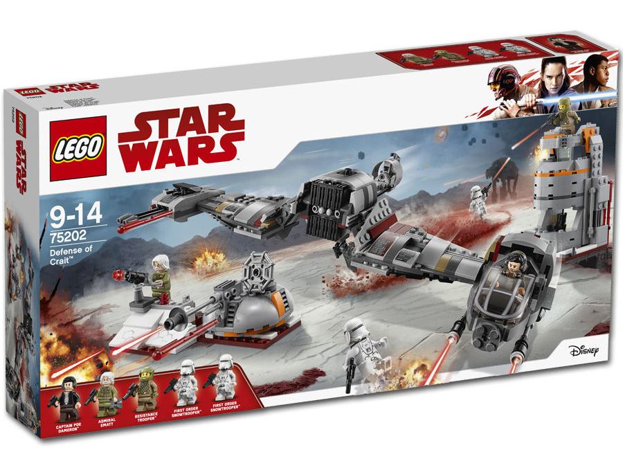 TLJ Defense of Crait Lego Set