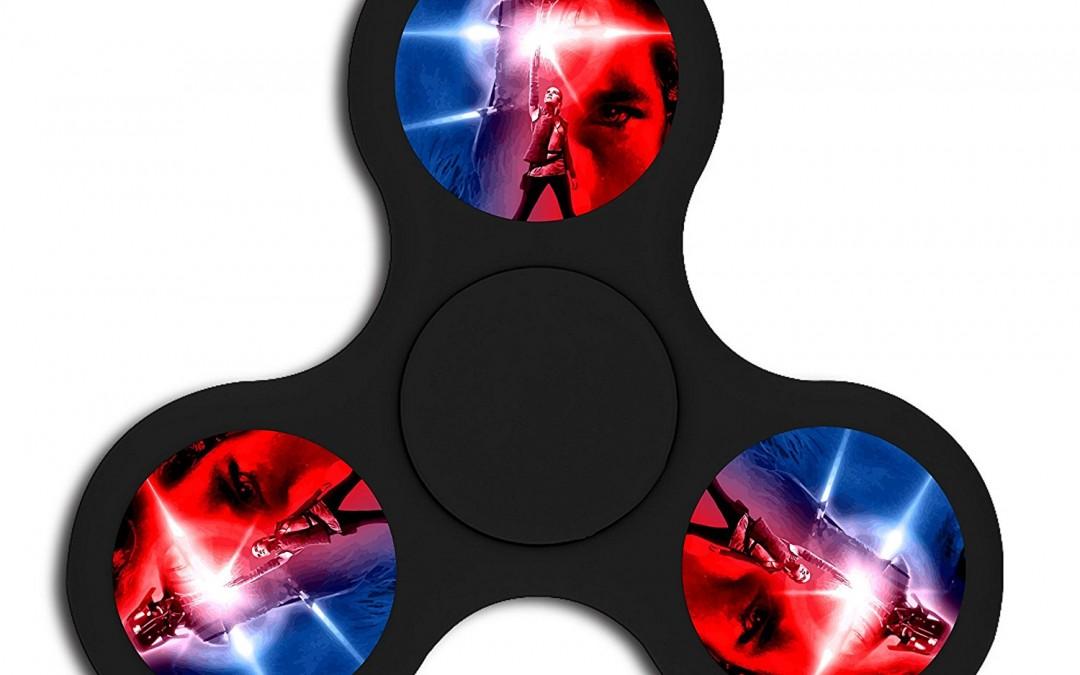 New Last Jedi Fidget Gyro Spinner available on Amazon.com