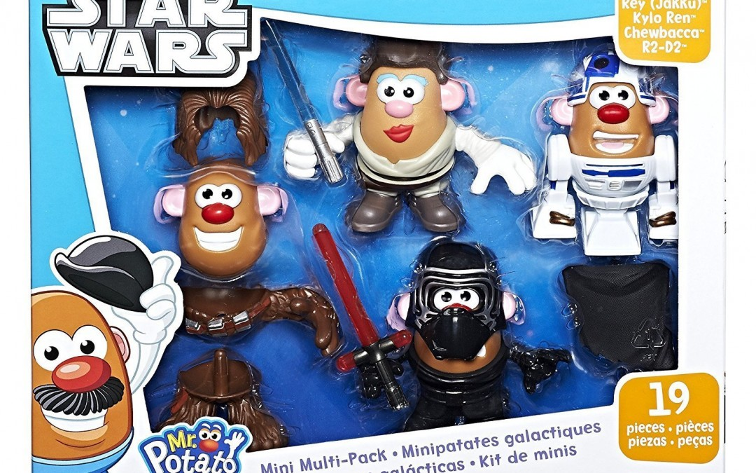 New Last Jedi Mr. Potato Head Mini Multi-Pack available on Amazon.com