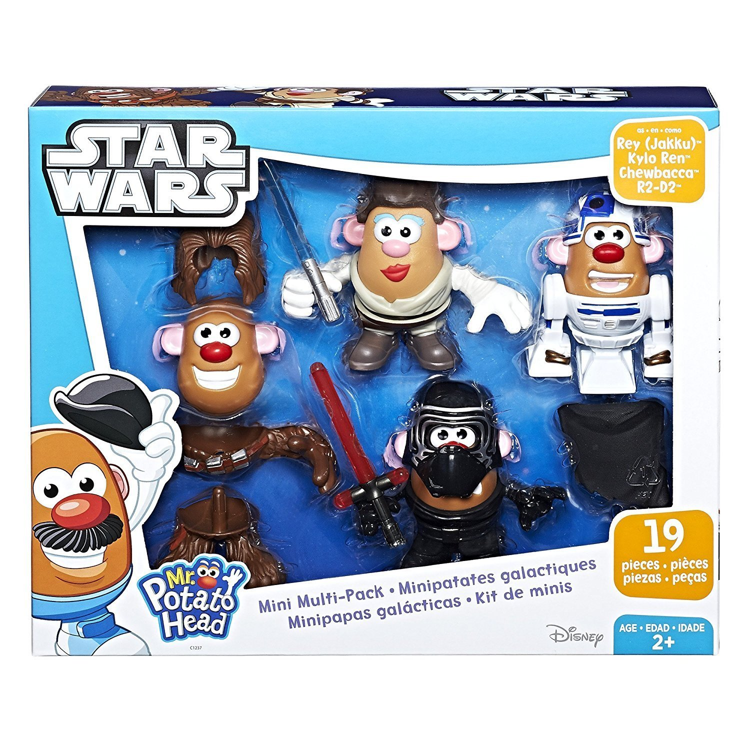 TLJ Mr. Potato Head Mini Multi-Pack 1