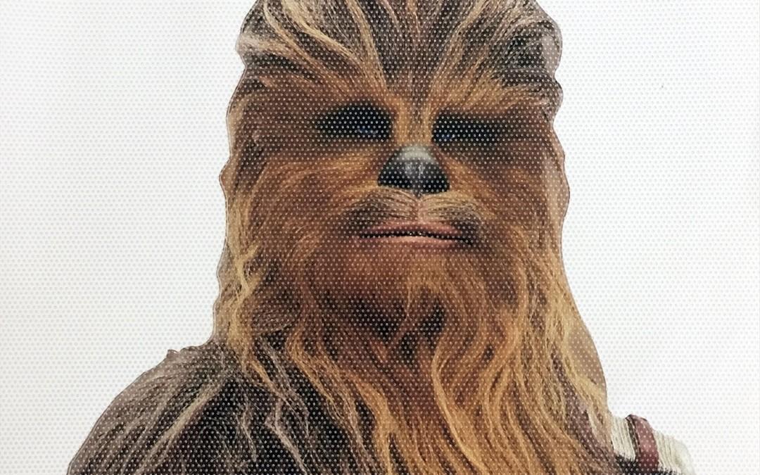 New Last Jedi Chewbacca Passenger Series Window Decal