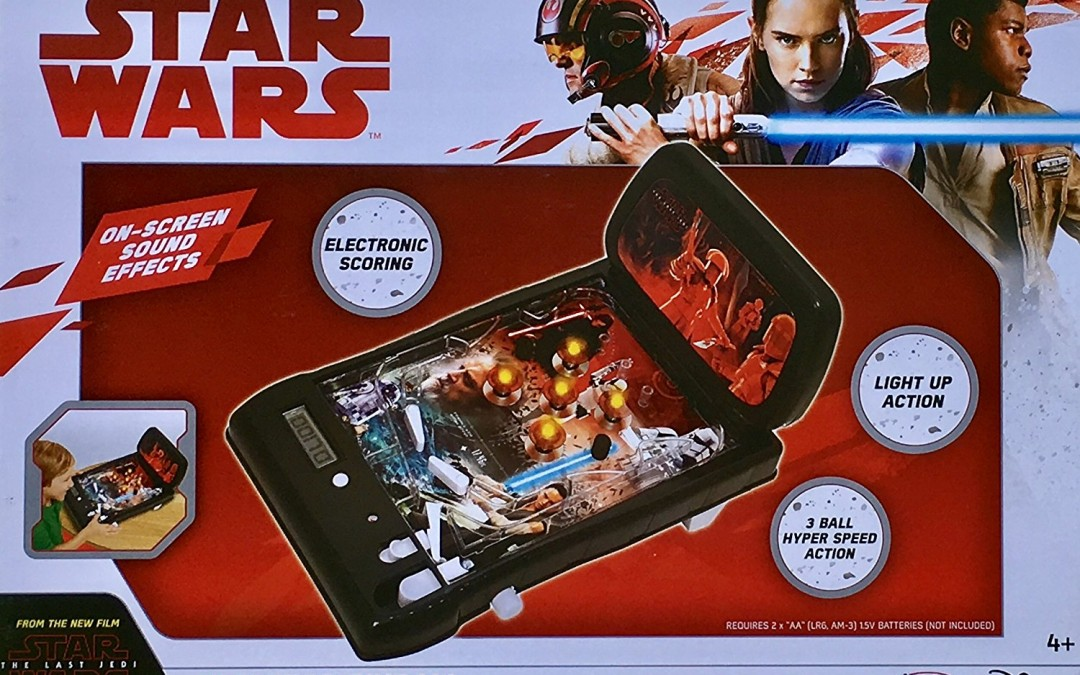 New Last Jedi Tabletop Pinball Machine available on Amazon.com