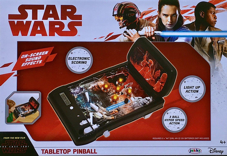 TLJ Tabletop Pinball Machine 1