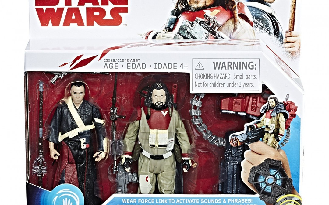 New Last Jedi (Rogue One) Force Link Figure 2-Pack available for pre-order on Amazon.com