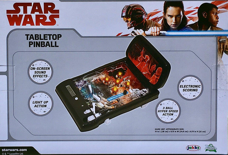 TLJ Tabletop Pinball Machine 2