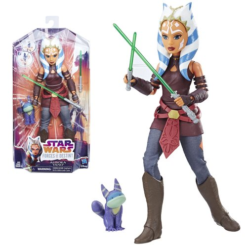 New Forces Of Destiny Ahsoka Tano Figure available for pre-order on Entertainmentearth.com