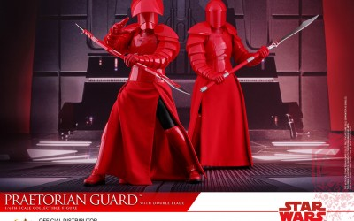 New Last Jedi 1/6th Scale Praetorian Guard Figure from Hot Toys available for pre-order