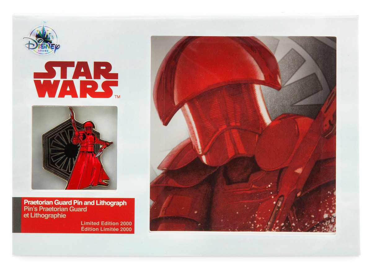 TLJ Praetorian Guard Pin & Lithograph Set 1