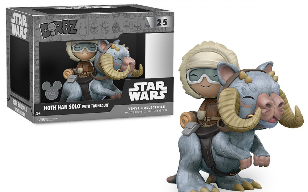 New Empire Strikes Back Funko Han Solo and Tauntaun Dorbz Vinyl Figure Set available on ShopDisney.com