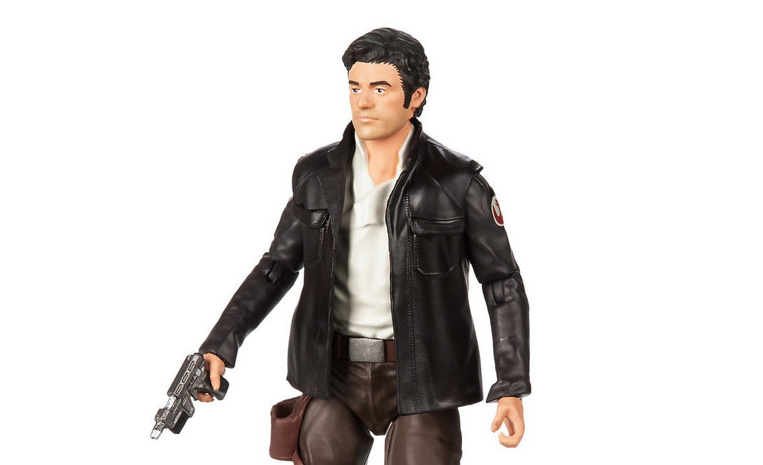 New Last Jedi Elite Series Poe Dameron Figure available on ShopDisney.com