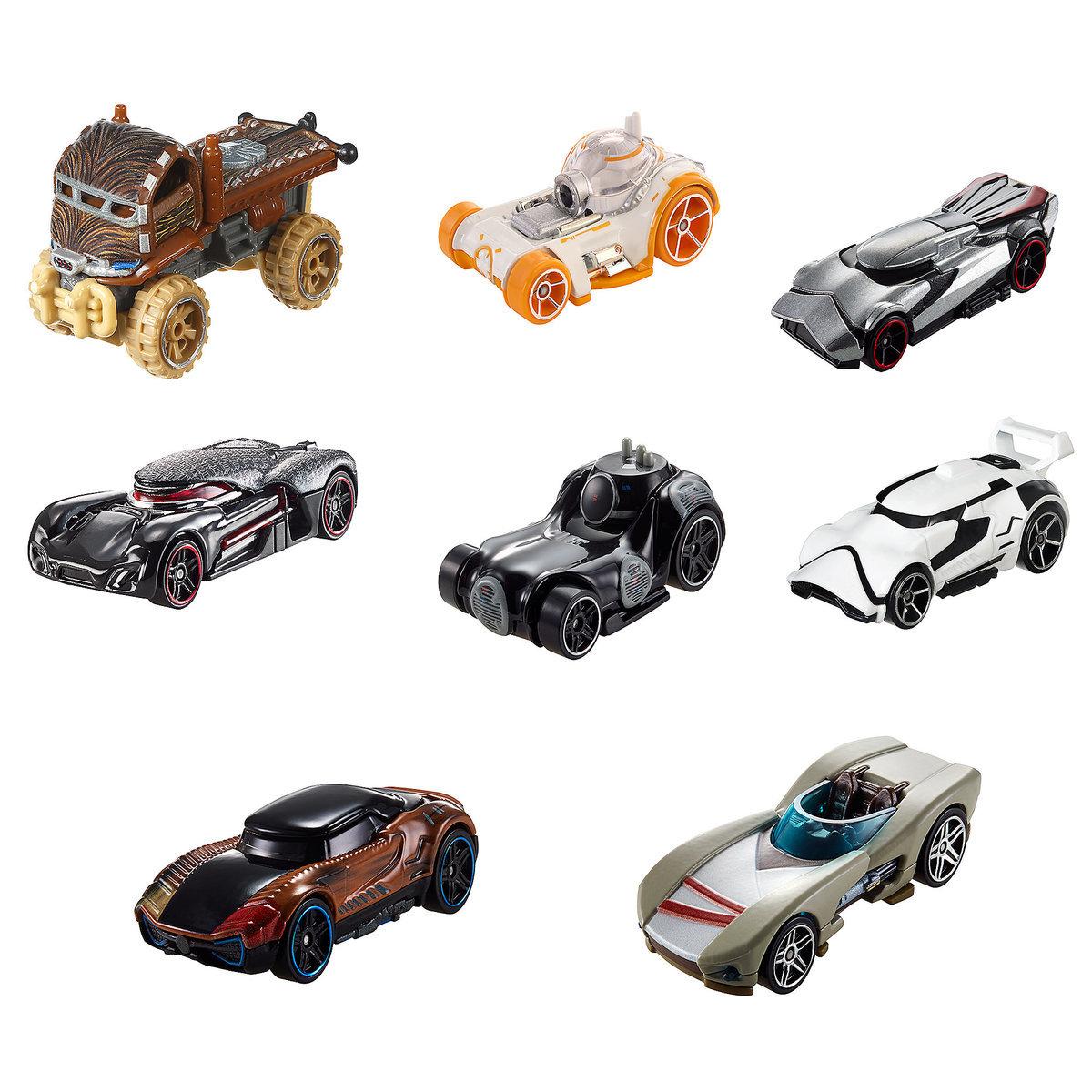 TLJ HW Character Car Set