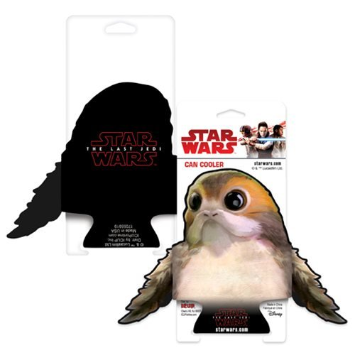New Last Jedi Porg Die-Cut Can Hugger available on Amazon.com
