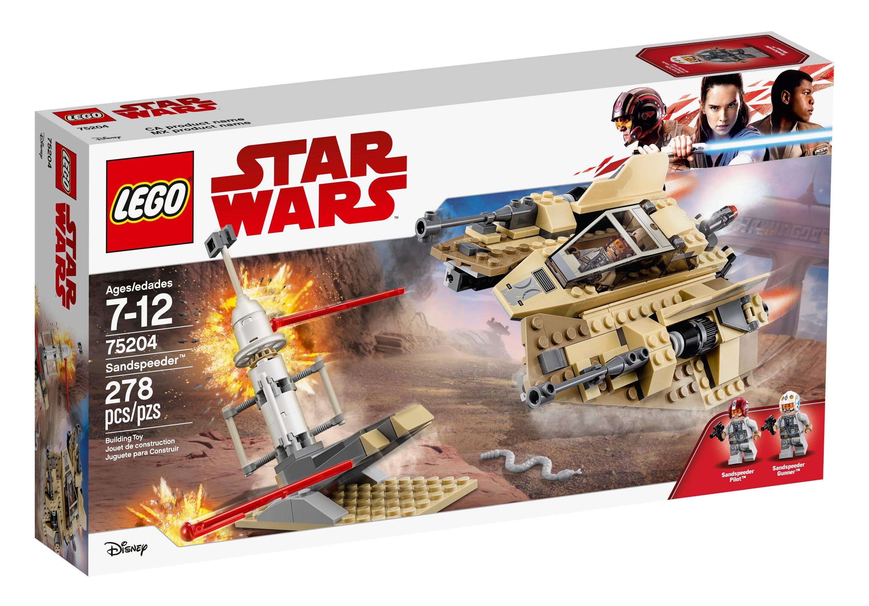 TLJ Sandspeeder Lego Set 1