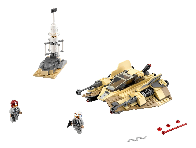 TLJ Sandspeeder Lego Set 2