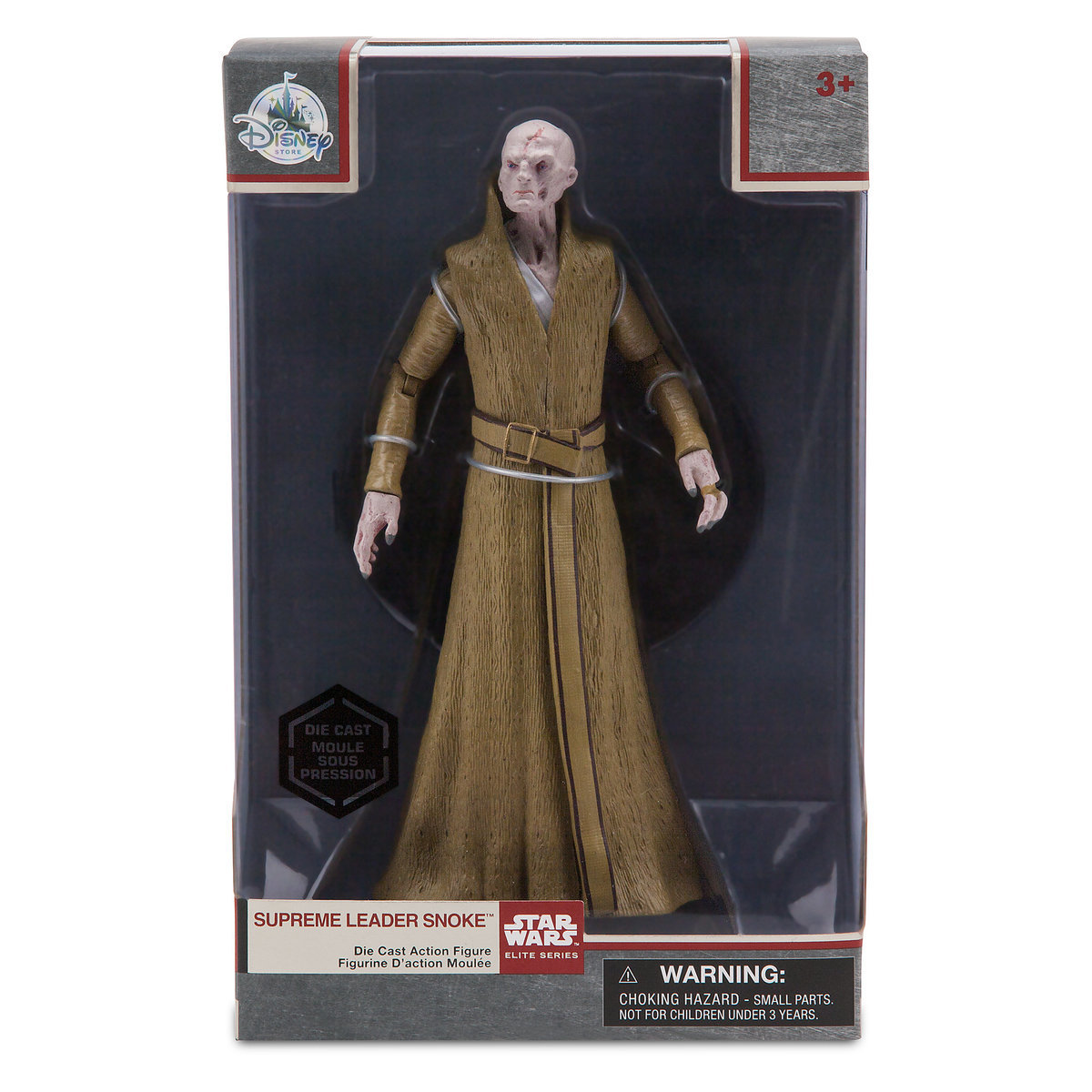 TLJ Supreme Leader Snoke Elite Series Die Cast Figure 1